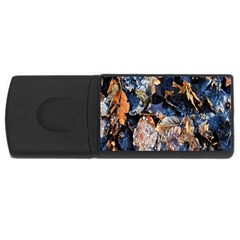 Frost Leaves Winter Park Morning USB Flash Drive Rectangular (4 GB)
