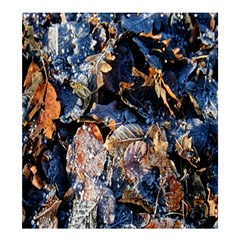 Frost Leaves Winter Park Morning Shower Curtain 66  x 72  (Large)