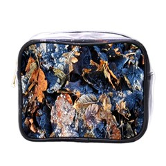 Frost Leaves Winter Park Morning Mini Toiletries Bags