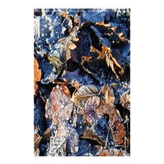 Frost Leaves Winter Park Morning Shower Curtain 48  x 72  (Small)