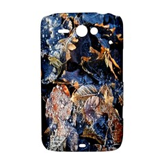 Frost Leaves Winter Park Morning HTC ChaCha / HTC Status Hardshell Case