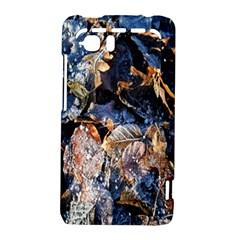 Frost Leaves Winter Park Morning HTC Vivid / Raider 4G Hardshell Case