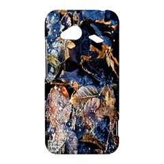 Frost Leaves Winter Park Morning HTC Droid Incredible 4G LTE Hardshell Case