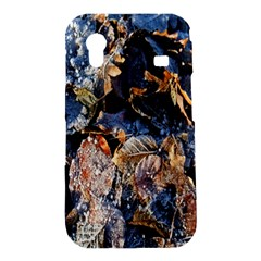 Frost Leaves Winter Park Morning Samsung Galaxy Ace S5830 Hardshell Case