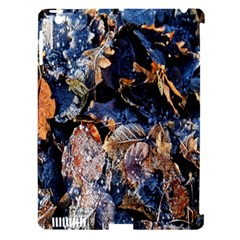Frost Leaves Winter Park Morning Apple iPad 3/4 Hardshell Case (Compatible with Smart Cover)