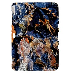 Frost Leaves Winter Park Morning Samsung Galaxy Tab 8.9  P7300 Hardshell Case