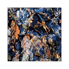 Frost Leaves Winter Park Morning Acrylic Tangram Puzzle (6  x 6 )