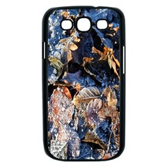 Frost Leaves Winter Park Morning Samsung Galaxy S III Case (Black)