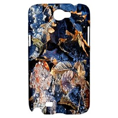 Frost Leaves Winter Park Morning Samsung Galaxy Note 2 Hardshell Case