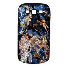 Frost Leaves Winter Park Morning Samsung Galaxy S III Classic Hardshell Case (PC+Silicone)