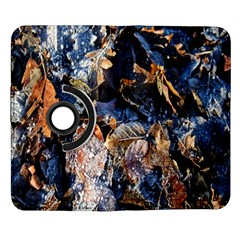 Frost Leaves Winter Park Morning Samsung Galaxy Note II Flip 360 Case