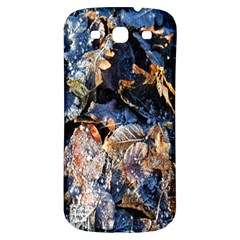 Frost Leaves Winter Park Morning Samsung Galaxy S3 S III Classic Hardshell Back Case