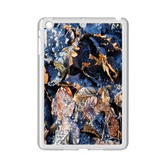 Frost Leaves Winter Park Morning iPad Mini 2 Enamel Coated Cases