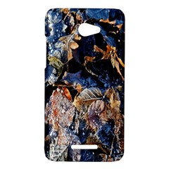 Frost Leaves Winter Park Morning HTC Butterfly X920E Hardshell Case