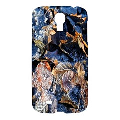 Frost Leaves Winter Park Morning Samsung Galaxy S4 I9500/I9505 Hardshell Case