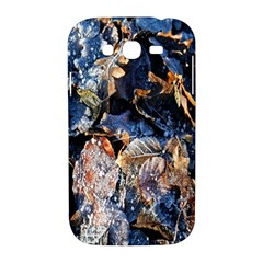Frost Leaves Winter Park Morning Samsung Galaxy Grand DUOS I9082 Hardshell Case
