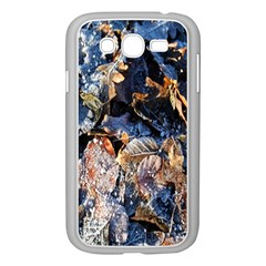 Frost Leaves Winter Park Morning Samsung Galaxy Grand DUOS I9082 Case (White)