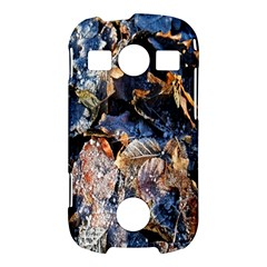 Frost Leaves Winter Park Morning Samsung Galaxy S7710 Xcover 2 Hardshell Case