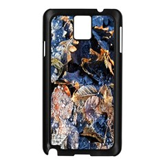 Frost Leaves Winter Park Morning Samsung Galaxy Note 3 N9005 Case (Black)