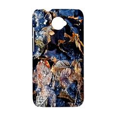 Frost Leaves Winter Park Morning HTC Desire 601 Hardshell Case