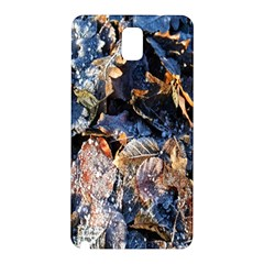 Frost Leaves Winter Park Morning Samsung Galaxy Note 3 N9005 Hardshell Back Case