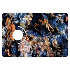 Frost Leaves Winter Park Morning Kindle Fire HDX Flip 360 Case
