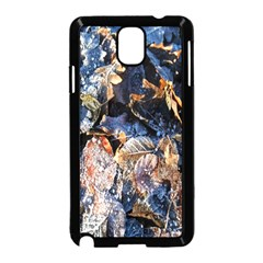 Frost Leaves Winter Park Morning Samsung Galaxy Note 3 Neo Hardshell Case (Black)