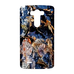 Frost Leaves Winter Park Morning LG G3 Hardshell Case