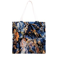 Frost Leaves Winter Park Morning Grocery Light Tote Bag