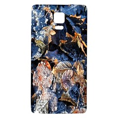 Frost Leaves Winter Park Morning Galaxy Note 4 Back Case