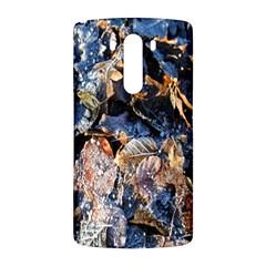 Frost Leaves Winter Park Morning LG G3 Back Case