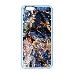 Frost Leaves Winter Park Morning Apple Seamless iPhone 6/6S Case (Color)