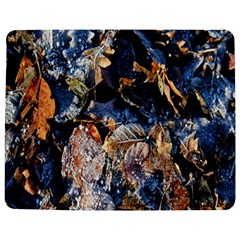 Frost Leaves Winter Park Morning Jigsaw Puzzle Photo Stand (Rectangular)