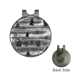 Gray Xmas magic Hat Clips with Golf Markers