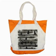 Gray Xmas magic Accent Tote Bag