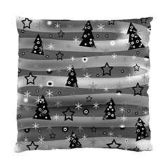 Gray Xmas magic Standard Cushion Case (One Side)