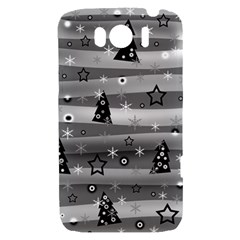 Gray Xmas magic HTC Sensation XL Hardshell Case