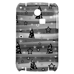 Gray Xmas magic Samsung S3350 Hardshell Case