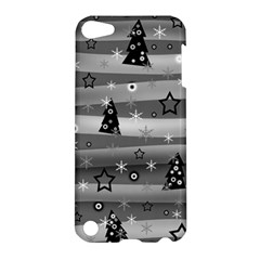 Gray Xmas magic Apple iPod Touch 5 Hardshell Case