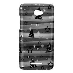 Gray Xmas magic HTC Butterfly X920E Hardshell Case