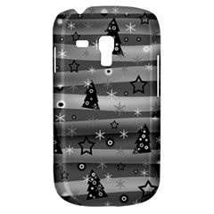 Gray Xmas magic Samsung Galaxy S3 MINI I8190 Hardshell Case