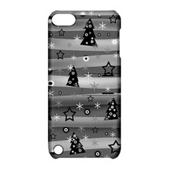Gray Xmas magic Apple iPod Touch 5 Hardshell Case with Stand