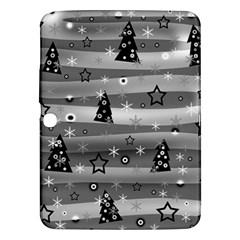 Gray Xmas magic Samsung Galaxy Tab 3 (10.1 ) P5200 Hardshell Case