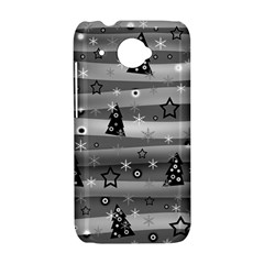 Gray Xmas magic HTC Desire 601 Hardshell Case