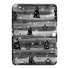 Gray Xmas magic Samsung Galaxy Tab 4 (10.1 ) Hardshell Case