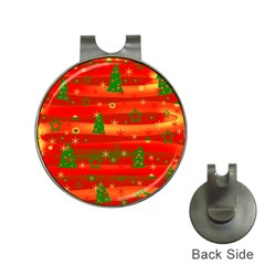 Xmas magic Hat Clips with Golf Markers