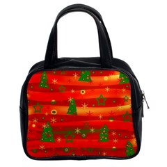 Xmas magic Classic Handbags (2 Sides)