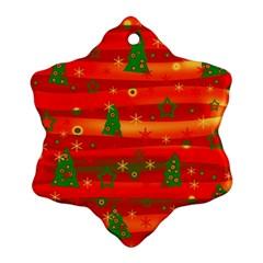 Xmas magic Snowflake Ornament (2-Side)