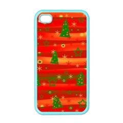 Xmas magic Apple iPhone 4 Case (Color)