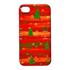 Xmas magic Apple iPhone 4/4S Hardshell Case with Stand